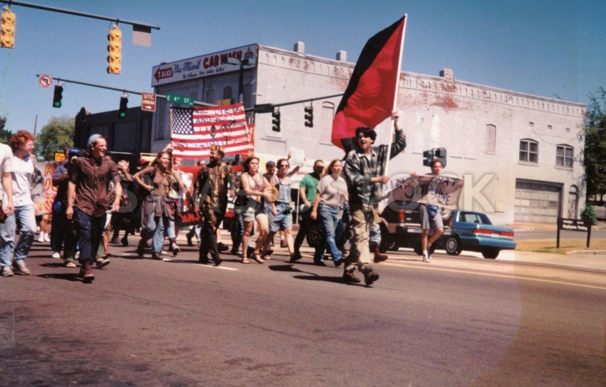 Anarchists March Against KKK Tennessee 0000.jpg - davidmcb